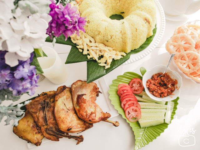 yellow rice, nasi tumpeng, nasi kuning, syukuran, nasi tumpeng moderen, tumpeng praktis, indonesian food