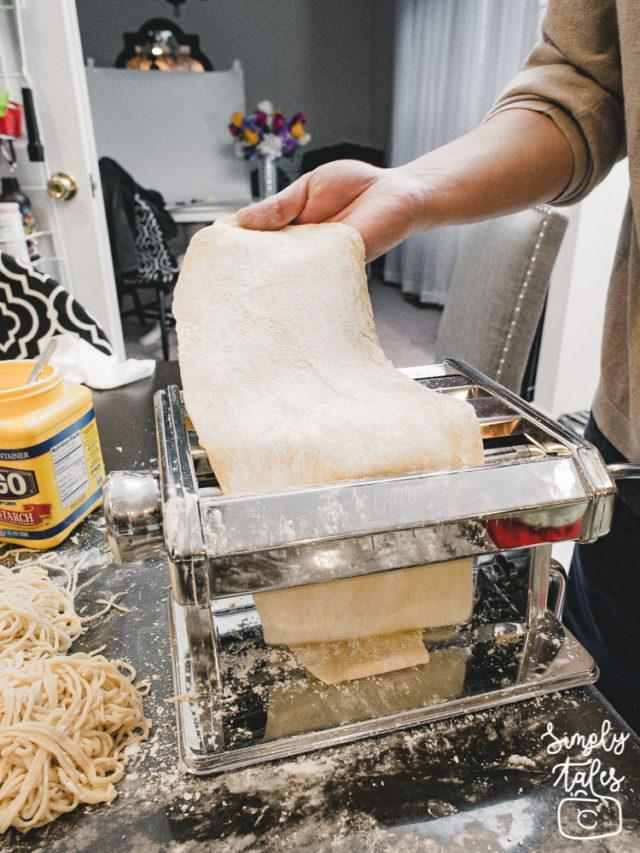 egg noodle, spaghetti, homemade, how to make noodle, noodle recipe, homemade noodles