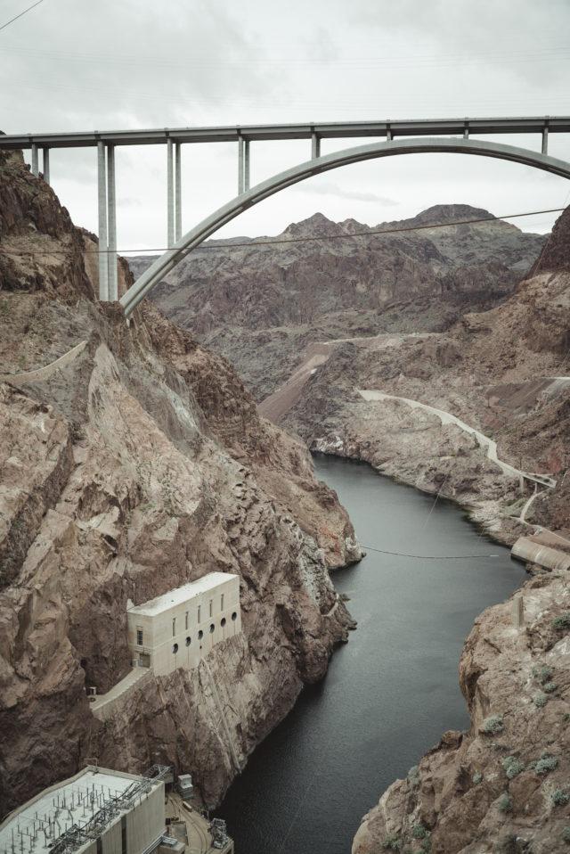 hover dam, las vegas, nevada, dam, hover dam bridge