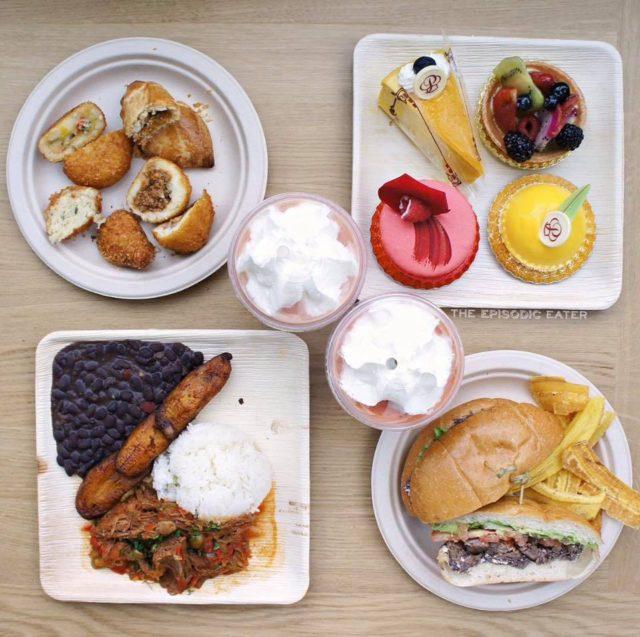portos bakery, cuban bakery, potato balls, tiramisu, portos