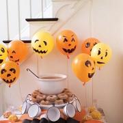 halloween balloons, jack o lantern balloon