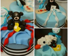 buttercream with fondant looks