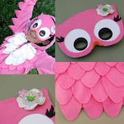 DIY halloween costume, owl costume