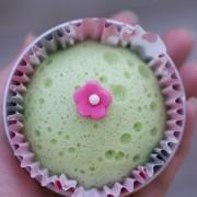 putu ayu, indonesian dessert, cupcakes, steam cupcakes