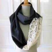Scarf lace, scarf, diy scarf