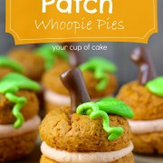 pumpkin whoopie pies, halloween small cake