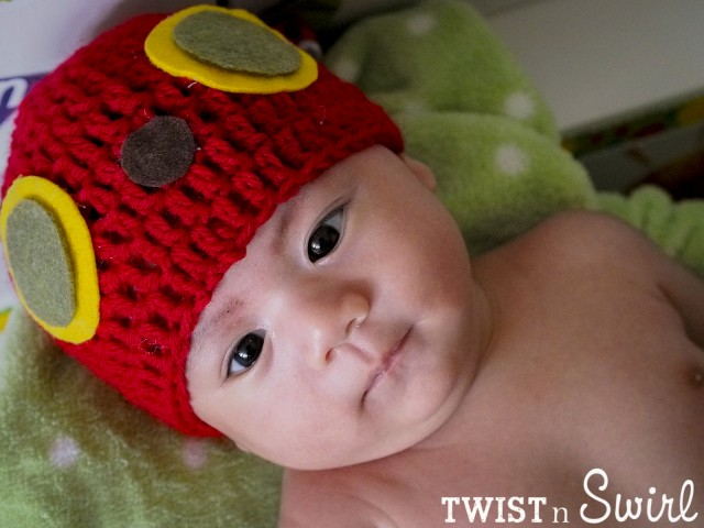 Very Hungry Caterpillar Crochet Hat Pattern Free : once upon a time there was a Very Hungry Caterpillar part ...
