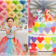 my little pony birthday, rainbow dash, rainbow party
