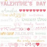 free fonts, free valentine fonts