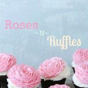 valentine's cupcake, roses buttercream, v day cupcake, v day gift