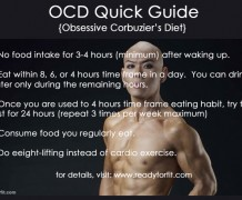 ocd, diets, way of lfe, deddy corbuzier, ocd guideline,ocd in english