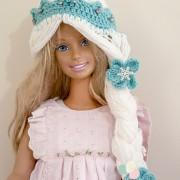 elsa crochet hat, frozen hat, crochet hat, crochet hat pattern, crochet pattern, free crochet pattern, frozen, tiara, elsa, prncess, disney princess, diy costume