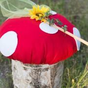 ottoman, diy ottoman, mushroom ottoman, fairy