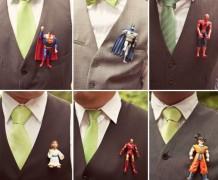 boutonniere, super hero boutonniere, manga, jesus