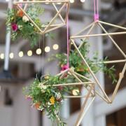 himmeli, ornament, christmas ornaments