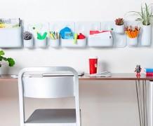 pencil holder, pen holder, diy pen holder, recycling project, vertical organizer, wall organizer, urbio