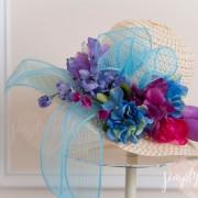 spring hat, derby hat, kentucky derby, diy hat, spring