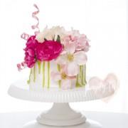 dripping cake, valentines cake, easy cake, cake for beginner