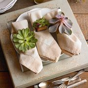 succulent, napking rings, fall, diy napkin rings