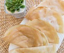 lekker, pisang leker, crepes, indnesian street food, makanan masa kecil, enak, must try