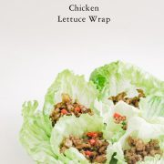 vegan, healthy, lettuce wrap, chicken lettuce wrap, cooking, dinner