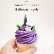 unicorn witch, unicorn, halloween, fondant cupcake topper, cake pop, halloween cupcakes, etsy