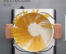 fettuccini, italian, pasta, white sauce, shrimp fettuccini