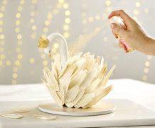 swan, swan cake, diy swan cake, kue angsa, instacake
