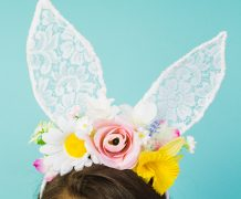 diy bunny ear headband